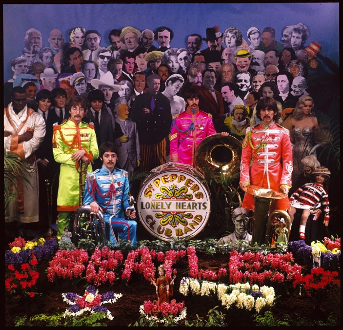 Making The Cover for Sgt Pepper's Lonely Hearts Club Band beatles